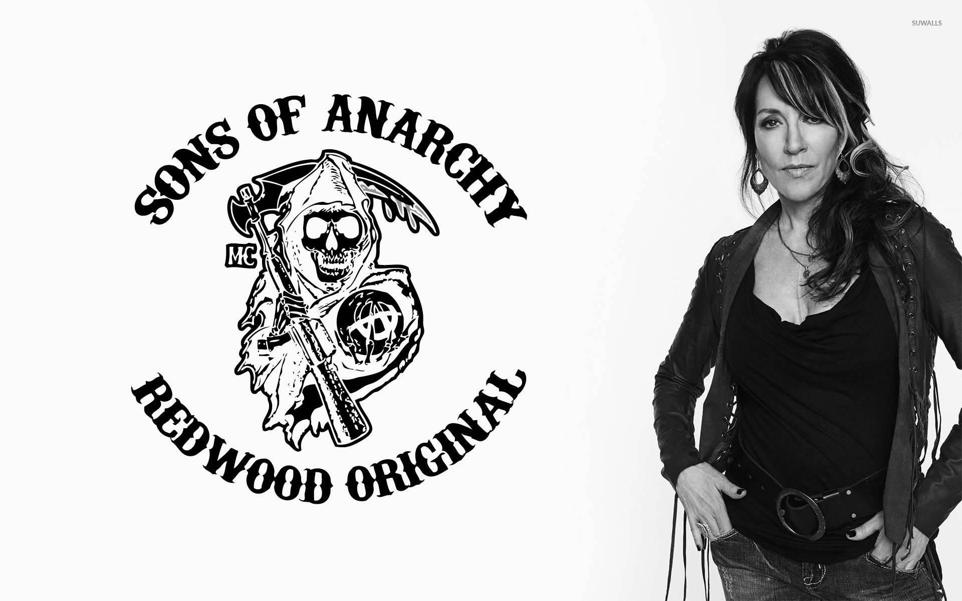 Gemma Teller Morrow Sons Of Anarchy Wallpaper Tv Show