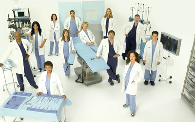 Grey's Anatomy [6] wallpaper