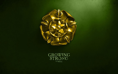 Growing Strong wallpaper