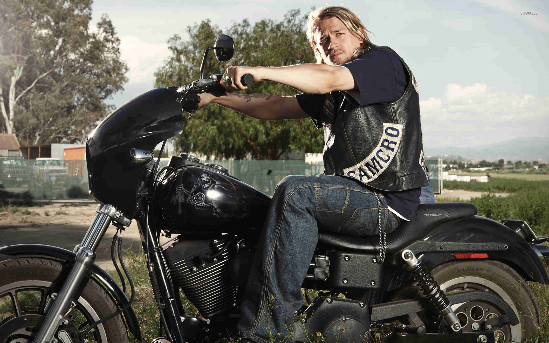 Jax Teller Sons Of Anarchy 3 Wallpaper Tv Show Wallpapers