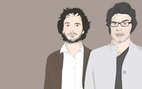 Jemaine and Bret - Flight of the Conchords wallpaper 1920x1200 jpg