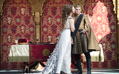 Joffrey and Margaery - Game of Thrones wallpaper