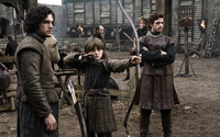 Jon, Bran and Robb wallpaper 1920x1200 jpg