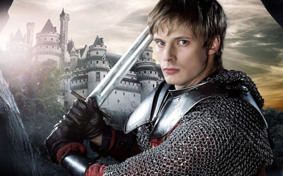 King Arthur - Merlin wallpaper