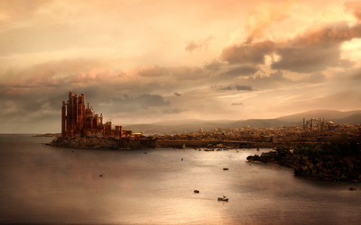 King's Landing - Game of Thrones wallpaper