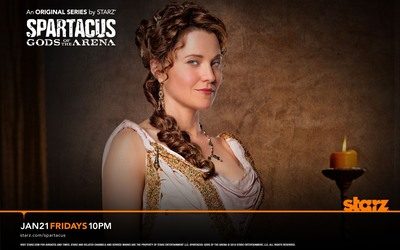 Lucretia - Spartacus: Gods of the Arena wallpaper
