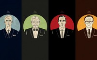 Mad Men characters wallpaper 1920x1080 jpg