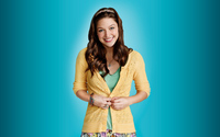 Marley Rose with a yellow sweater - Glee wallpaper 3840x2160 jpg