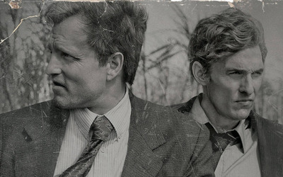 Martin Hart and Rust Cohle - True Detective wallpaper