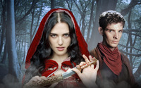 Merlin and Morgana wallpaper 1920x1200 jpg