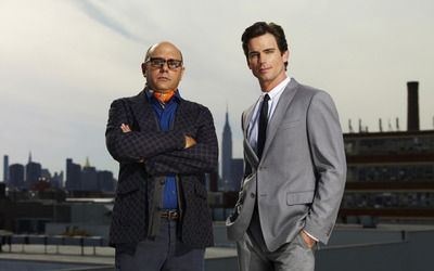 Mozzie and Neal Caffrey - White Collar wallpaper