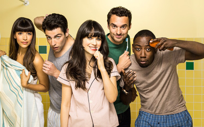 New Girl [4] wallpaper