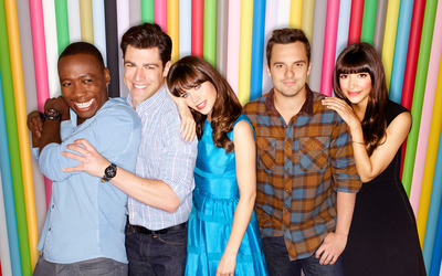 New Girl [8] wallpaper