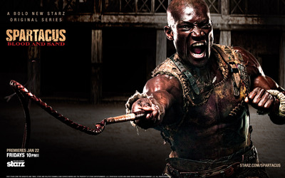 Oenomaus- Spartacus: Blood and Sand wallpaper