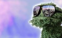 Oscar the Grouch from Sesame Street wallpaper 1920x1200 jpg
