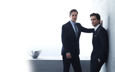 Peter Burke and Neal Caffrey - White Collar wallpaper