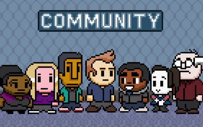 Pixel Community wallpaper