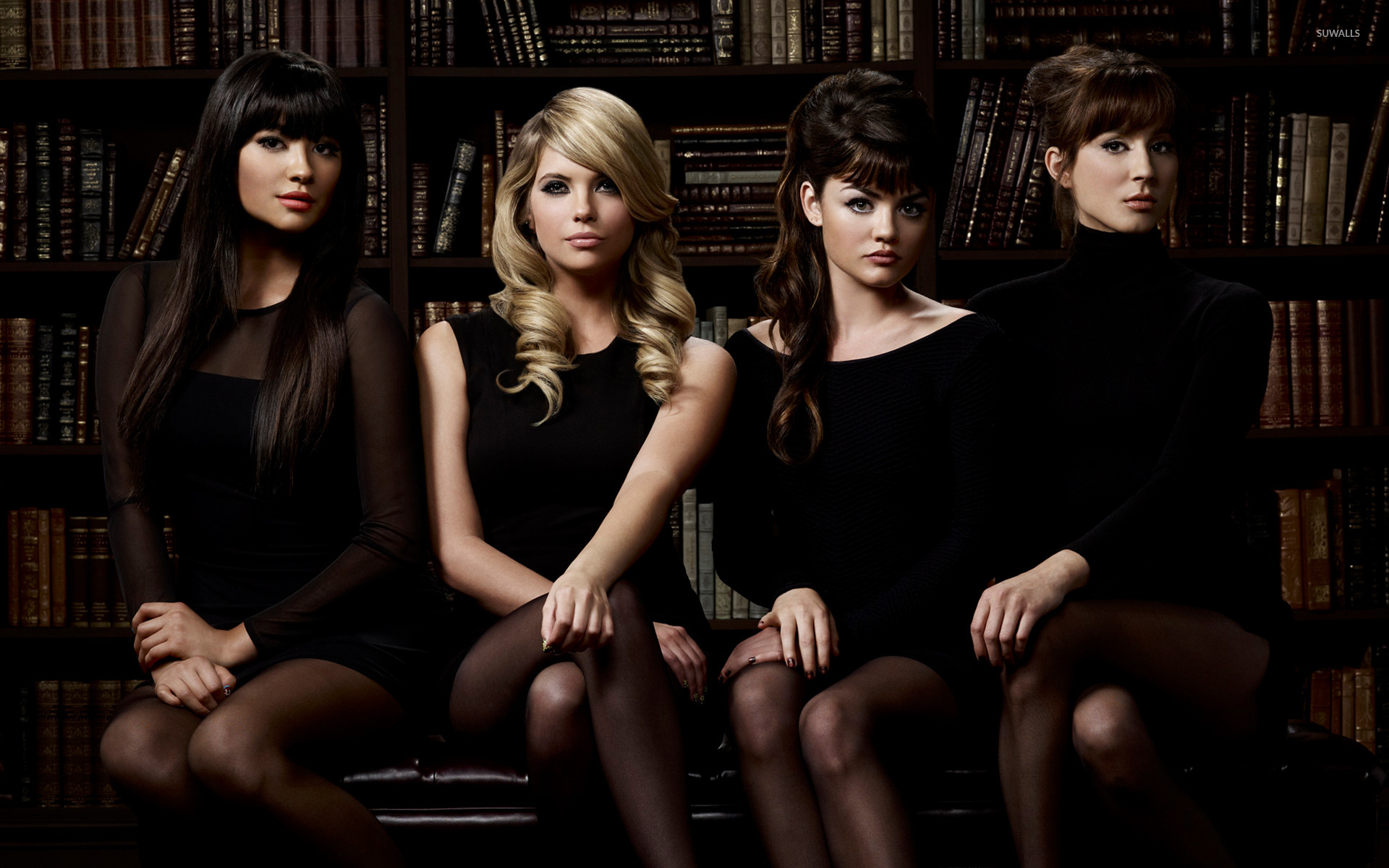 pretty little liars [5] wallpaper - tv show wallpapers - #15013