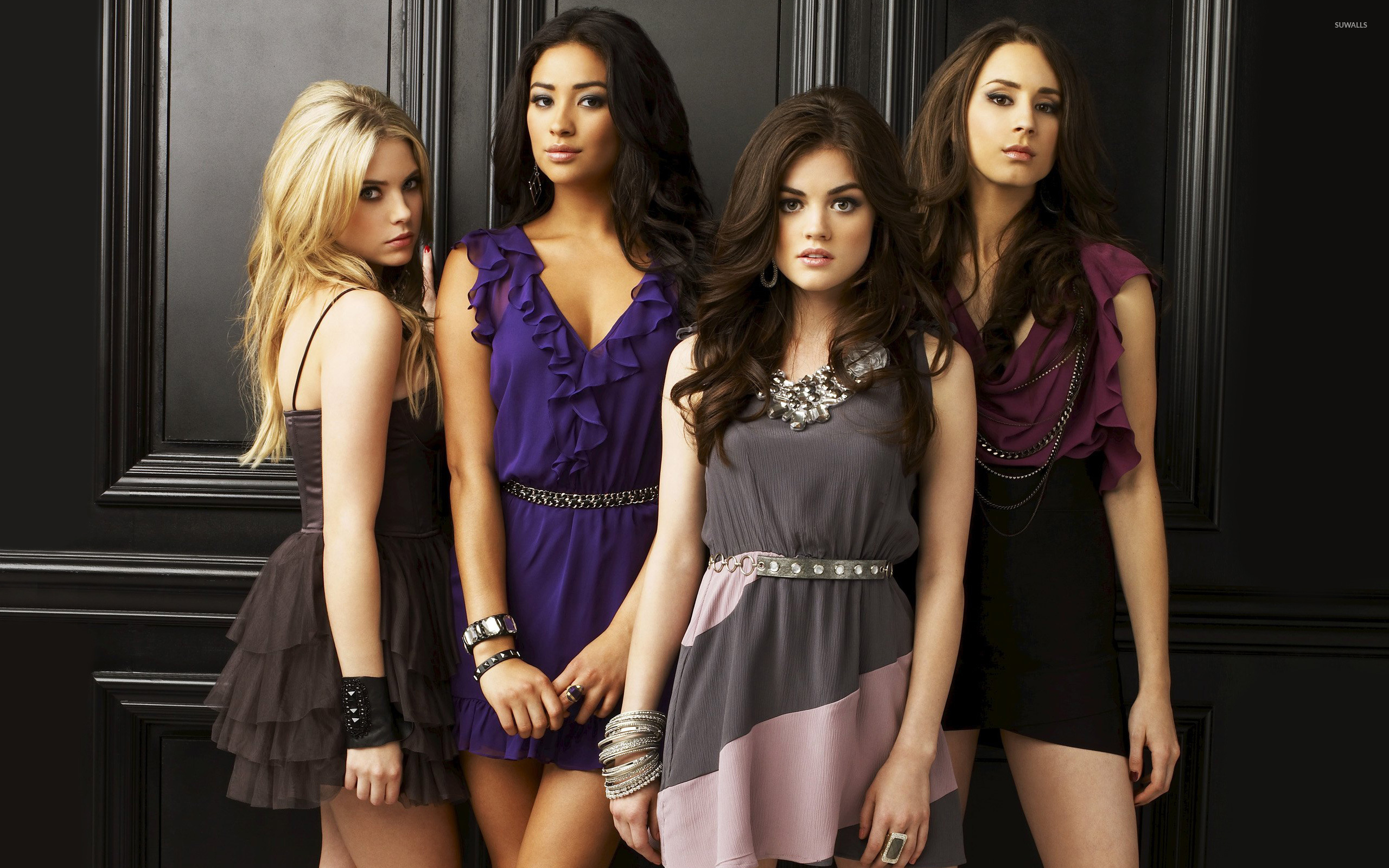 pretty little liars [2] wallpaper - tv show wallpapers - #8363