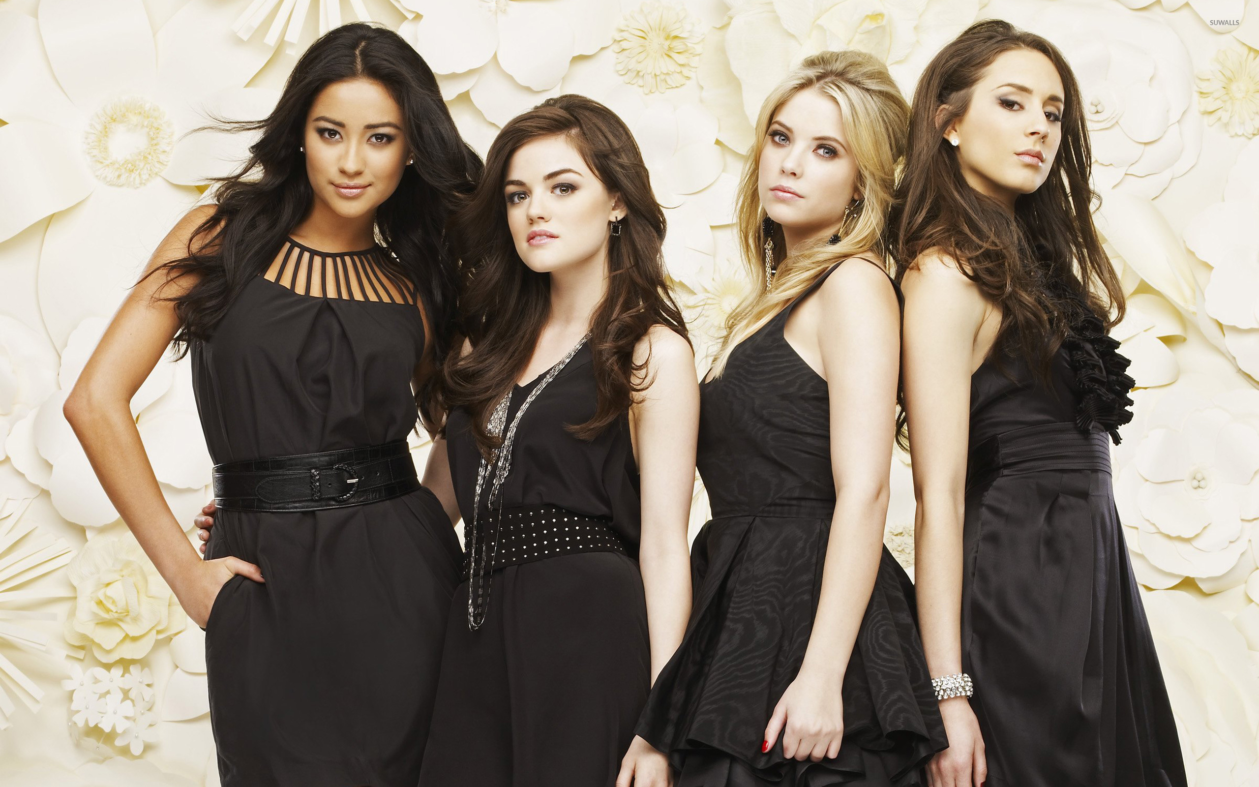 pretty little liars [4] wallpaper - tv show wallpapers - #8553