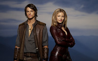 Richard Cypher and Cara - Legend of the Seeker wallpaper 2560x1600 jpg