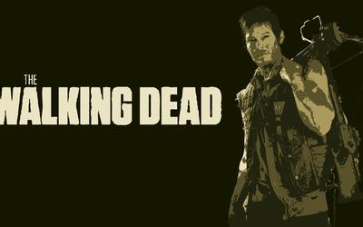 Rick Grimes from The Walking Dead wallpaper
