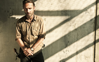 Rick Grimes - Walking Dead wallpaper 2560x1600 jpg