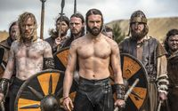 Rollo leading a viking army - Vikings wallpaper 2560x1440 jpg