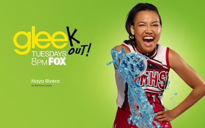 Santana Lopez - Glee wallpaper