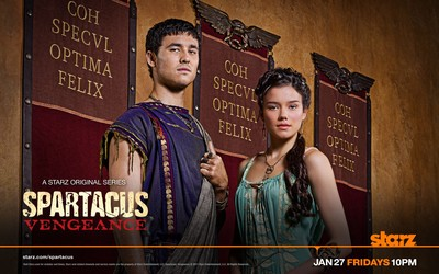 Seppius and Seppia - Spartacus: Vengeance wallpaper