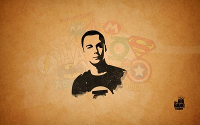 Sheldon Cooper from The Big Bang Theory wallpaper