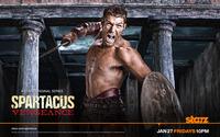 Spartacus - Spartacus: Vengeance [2] wallpaper 1920x1200 jpg