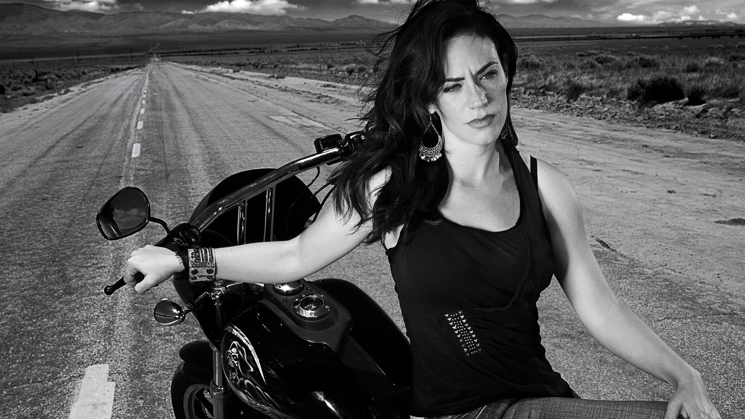 Tara Knowles Sons Of Anarchy Wallpaper Tv Show Wallpapers 24522