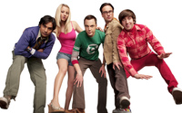 The Big Bang Theory main characters wallpaper 1920x1080 jpg