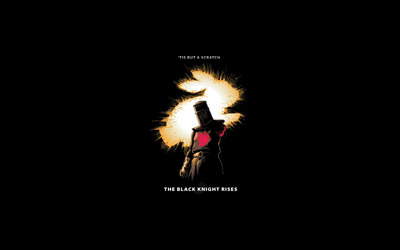 The Black Knight - Monty Python wallpaper