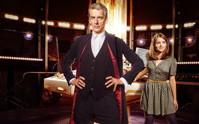 The Doctor and Clara - Doctor Who wallpaper