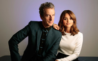 The Doctor and Clara - Doctor Who [2] wallpaper 1920x1200 jpg