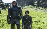 The Hound and Arya wallpaper 1920x1200 jpg