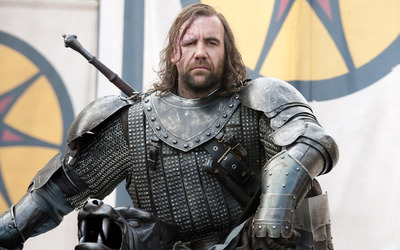 The Hound from Game of Thrones wallpaper