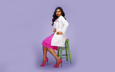 The Mindy Project [5] wallpaper