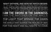 The Night's Watch oath wallpaper 1920x1080 jpg