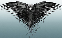 The three-eyed raven - Game of Thrones wallpaper 1920x1080 jpg
