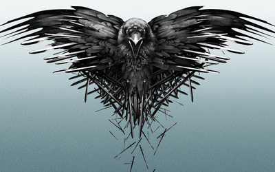The three-eyed raven - Game of Thrones wallpaper