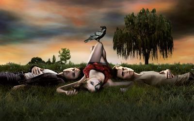 The Vampire Diaries [12] wallpaper