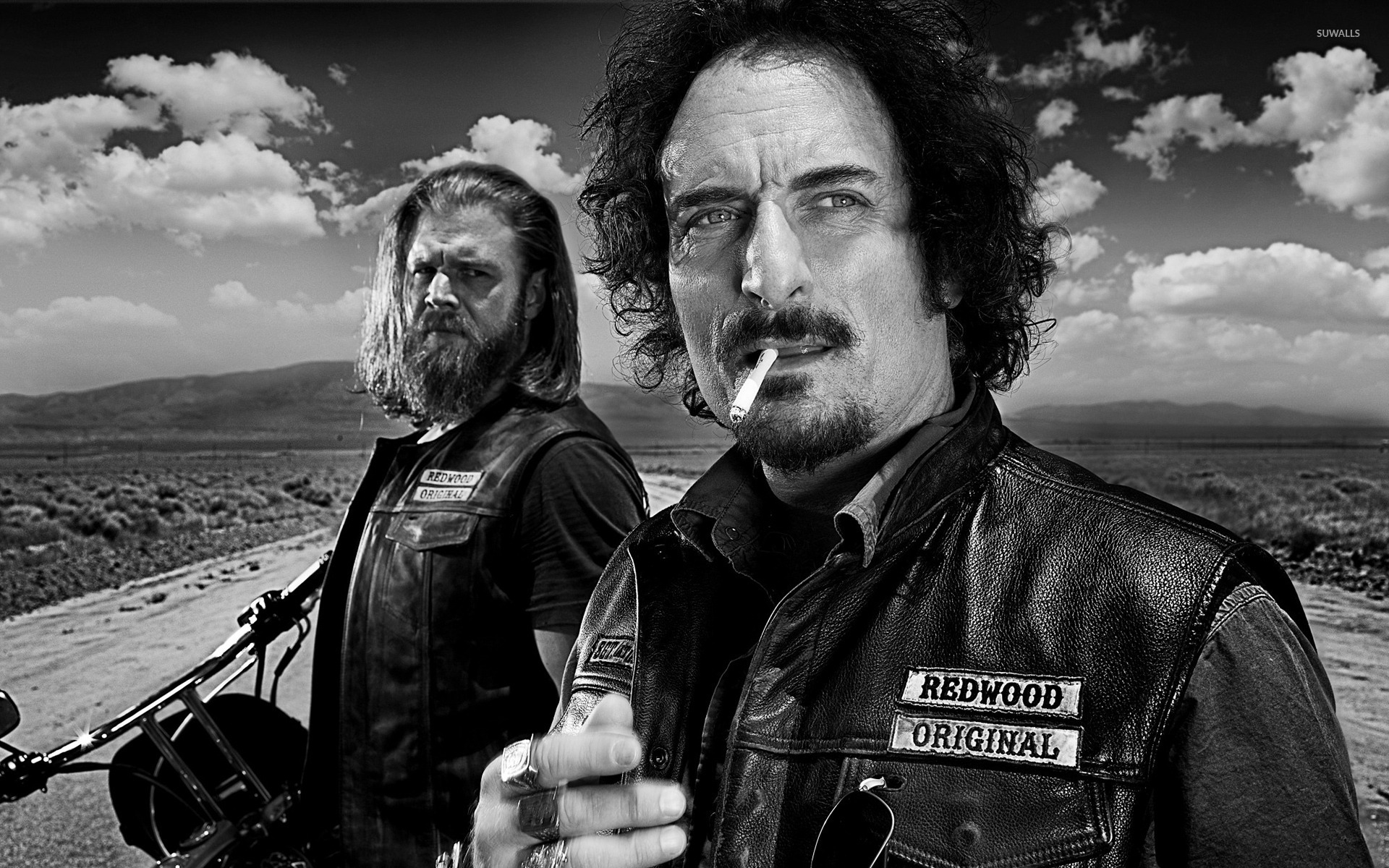 Tig And Opie Sons Of Anarchy Wallpaper Tv Show Wallpapers 31515