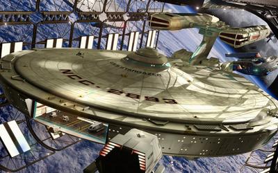 USS Stargazer - Star Trek wallpaper