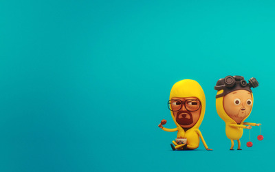 Walter White and Jesse Pinkman [2] wallpaper