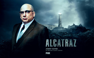 Warden Edwin James - Alcatraz wallpaper