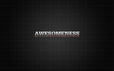 When i get sad, i get awesome - How I Met Your Mother wallpaper