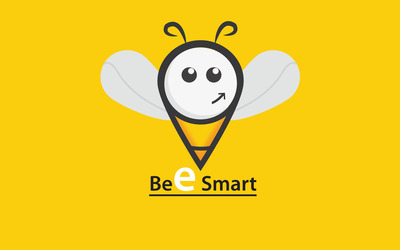 Bee smart wallpaper